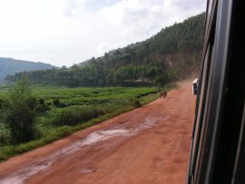 Also not my picture although it is an actual picture on the bus route that we traveled from Kigali back to Uganda